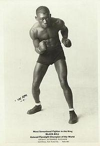 Black Bill boxer