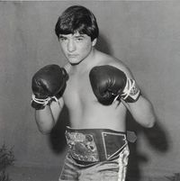 Chris Linson boxer