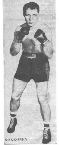 Pekka Kokkonen boxer