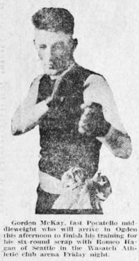 Gordon McKay boxer