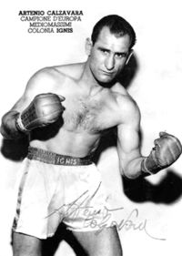 Artenio Calzavara boxer