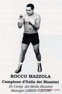 Rocco Mazzola boxer