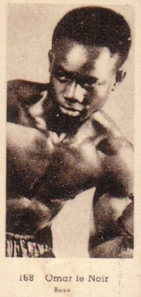 Omar Kid Le Noir boxer
