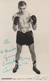 Pierre Cossemyns boxer