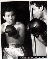 Jorge Baby Salazar boxer