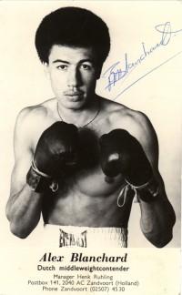 Alex Blanchard boxer