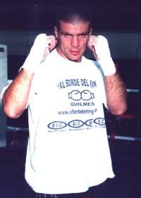 Sergio Gaston Finetto boxer