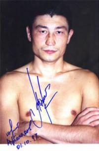 Yuri Arbachakov boxer