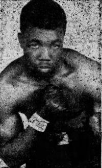 Harold 'Jamaica' Smith boxer