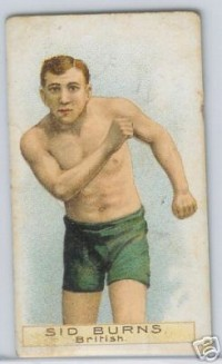 Sid Burns boxer