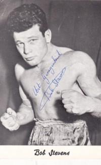 Bob Stevens boxer