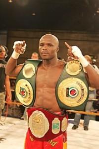 Isaac Hlatshwayo boxer