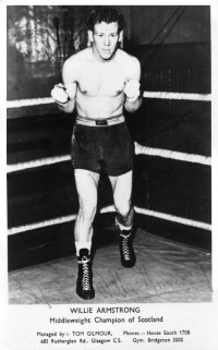 Willie Armstrong boxer