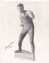 Young Johnny Burns boxer
