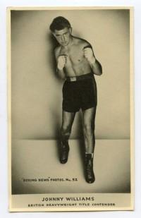 Johnny Williams boxer