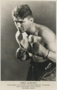 Fred Lenhart boxer