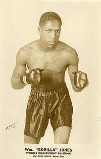 Gorilla Jones boxer