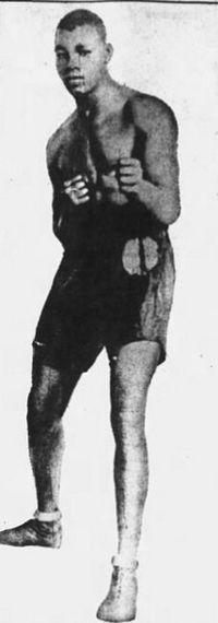 Tiger Jack Payne boxer