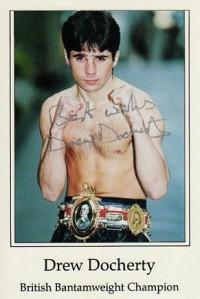 Drew Docherty boxer
