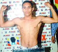 Jhon Alberto Molina boxer