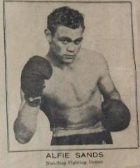 Alfie Sands boxer