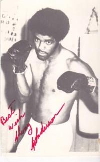 Alvin Anderson boxer