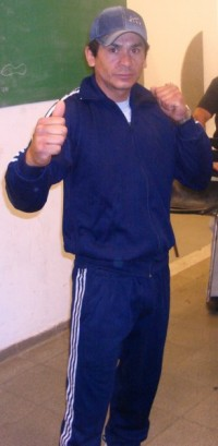 Pablo Alberto Cortes boxer