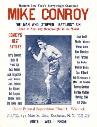 Mike Conroy boxer