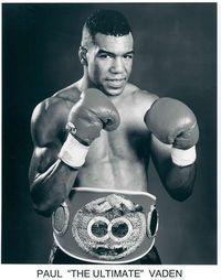 Paul Vaden boxer