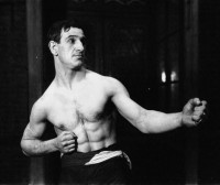 Bandsman Dick Rice boxer