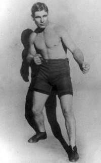 Les Darcy boxer