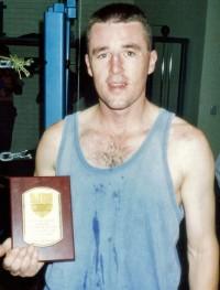 Garth Cussion boxer