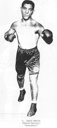 Eddie Martin boxer