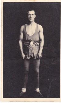 Seaman Tommy Watson boxer