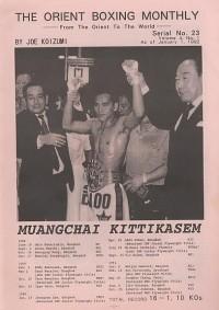 Muangchai Kittikasem boxer