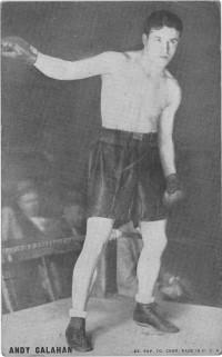 Andy Callahan boxer