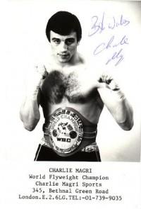 Charlie Magri boxer
