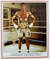 Victor Cordoba boxer