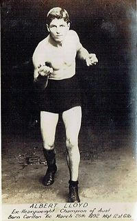 Albert Kid Lloyd boxer