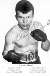 Lothar Abend boxer