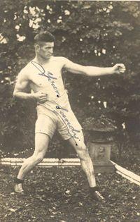 Sandy McKenzie boxer