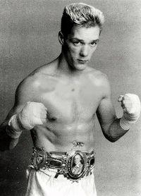 Alex Dickson boxer