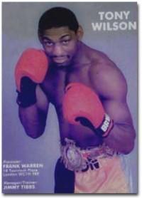 Tony Wilson boxer