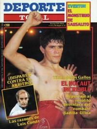 Benito Badilla boxer