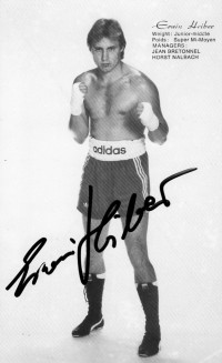 Erwin Heiber boxer