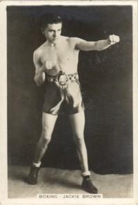 Jackie Brown boxer