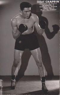 Gilbert Chapron boxer