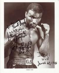 Robbie Sims boxer