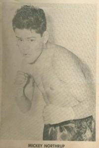Mickey Northrup boxer