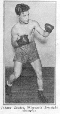 Johnny Gaudes boxer